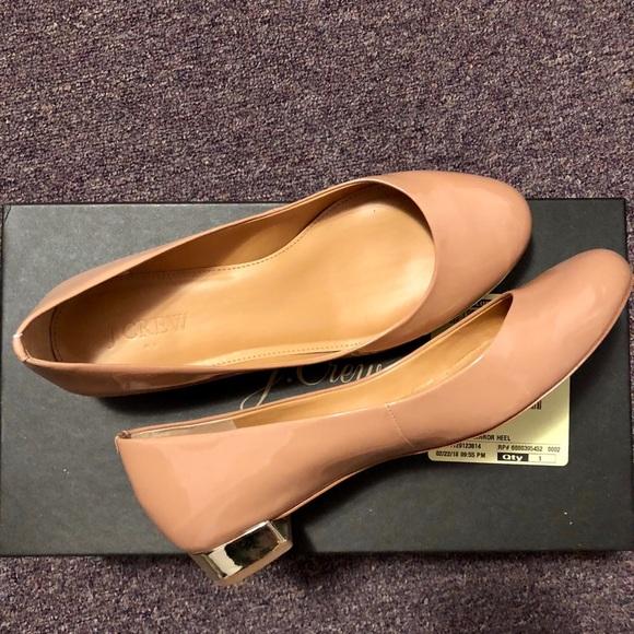 7a3a35f00 J. Crew Factory Shoes   Lily Metallicheel Ballet Flats   Poshmark